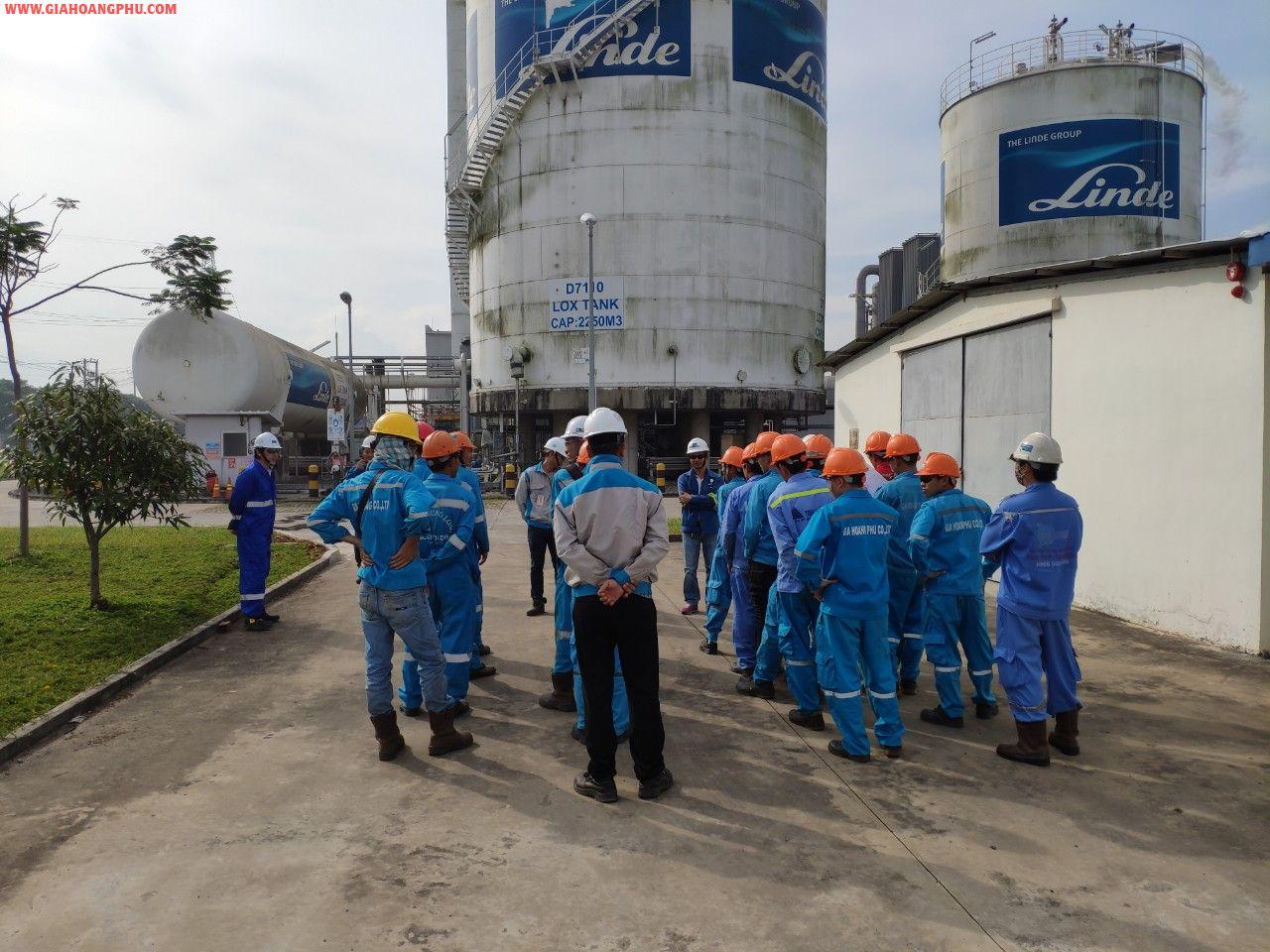 Dự Án Nâng cấp công suất nhà máy khí LINDE GAS